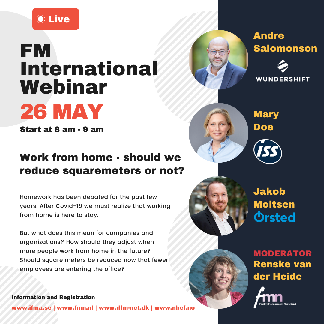 Webinar 'People work from home. Should we reduce squaremeters or not?'