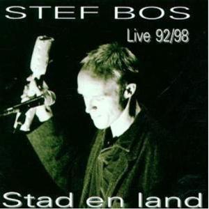 Stef Bos -  albumhoes stad en land
