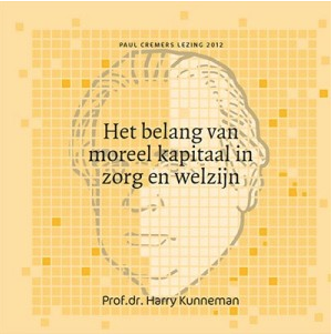 Boekomslag - Het belang van moreel kapitaal in zorg en welzijn